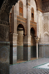 Fes El Bali Morocco-Medersa el Attarine.6-2016 (Julia Kostecka) Tags: morocco fes madrasa medersa feselbali medersaelattarine