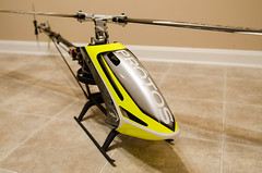 MSH Protos Max V2 [front] (nathanwalls) Tags: max yellow helicopter rc heli v2 msh protos