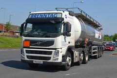 Brenntag Volvo PK12BZU - Widnes (dwb transport photos) Tags: truck volvo widnes hgv brenntag pk12bzu