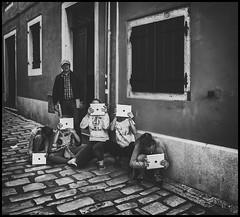 iPad photographers (Lukas_R.) Tags: street leica travel people bw photographer 28mm q rovinj ipad f17 typ116