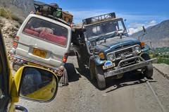 Tight Road Crossings on Kalash Valley Road (Emaad Paracha) Tags: festival fort top pass mosque valley mir dir kalash shahi mardan chitral malakand lowaripass lowari terich bumburet lowaritop timergara chilimjusht