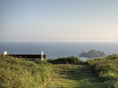A seat with a view on Alderney (neilalderney123) Tags: landscape view seat olympus alderney 2016neilhoward