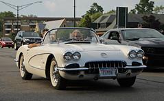 1959-1960 Chevrolet Corvette (RudeDude2140a) Tags: white classic chevrolet sports car convertible corvette 1959 roadster 1960 c1