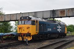 50 049 Defiance (Midland Red FanBoy) Tags: travel england train trains transportation severnvalleyrailway kidderminster class50 passengertrains severnvalleyrailwayspringdieselgala