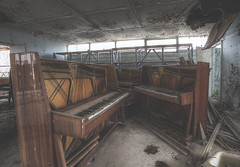 'The Pripyat Piano Shop' (Timster1973 - thanks for the 13 million views!) Tags: old music rot abandoned rotting shop canon photography photo tim store still europe silent decay empty neglected piano nuclear ukraine explore musical abandon forgotten urbanexploration tragedy disaster ghosttown radioactive tune rotten tunes exploration forgot derelict abandonment hdr highdynamicrange decaying dereliction ue chernobyl urbex theforgotten takingback beautifuldecay photomatix pripyat exclusionzone beautyindecay prypyat nucleardisaster europeanexploration urbanwandering decayedandabandoned timknifton timster1973 knifton chernobylnucleardisaster teammoonwhistle