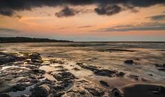 Black Sand Beach (Kiwi Tom) Tags: tomhall hawaii travel sunset longexposure colour sea water rocks landscape