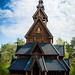 Gol Stave Church, Norwegian Museum of Cultural History, Oslo, Norway