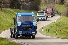 truck&roll (crazyhorse_mk) Tags: road old truck vintage germany landscape mercedesbenz baden blackforest scania youngtimer badenwuerttemberg saurer kleineswiesental malsburgmarzell blackforestrun2016