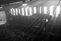 Sunshine at the MPD (Diamond Gaz) Tags: k1 peppercorn grosmont nymr 62005 nelpg