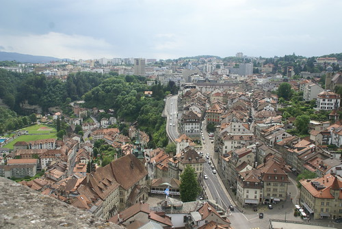 Fribourg, from Cathedral tower