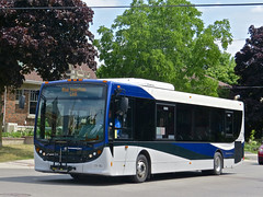 Collingwood Public Transit 708 (YT | transport photography) Tags: bus collingwood transit alexander dennis midi newflyer midibus enviro200 md35 colltrans