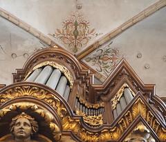 Schnitger-orgel, Grote Kerk Zwolle (Gerrit Veldman) Tags: architecture churchinterior gewelf houtsnijwerk kerkinterieur orgelkas organcase woodcarving arch zwolle overijssel olympus epl7 nederland netherlands