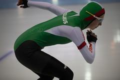 A37W2379 (rieshug 1) Tags: speedskating schaatsen eisschnelllauf skating worldcup isu juniorworldcup worldcupjunioren groningen kardinge sportcentrumkardinge sportstadiumkardinge kardingeicestadium sport knsb ladies dames 3000m