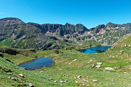 Pic de Cabaillère - étangs de Mirabail