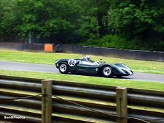 Elva Mk8 (BenGPhotos) Tags: green classic cars sports car sport festival race racing historic event prototype british motor hatch masters roger wills brands motorsport elva 1965 autosport motoring 2016 classsic mk8