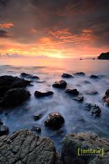 (lantaw.com) Tags: sunset sea seascape beach coastal ph mindanao tuka marinepark 2015 sarangani kiamba