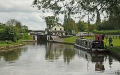 Three Locks pub by the Grand Union Canal (UK) (Vee- back at last :-)) Tags: water canal bedfordshire boating locks leightonbuzzard barges grandunion linslade thethreelocks shootaboot12015