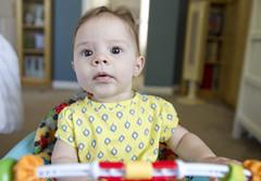 Zoe! (TeamNovak) Tags: baby cute girl sweet twin fraternal