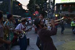 Pure music (Facundo Olazar) Tags: street music argentina avenida calle buenos aires trumpet musica avenue obelisco trompeta