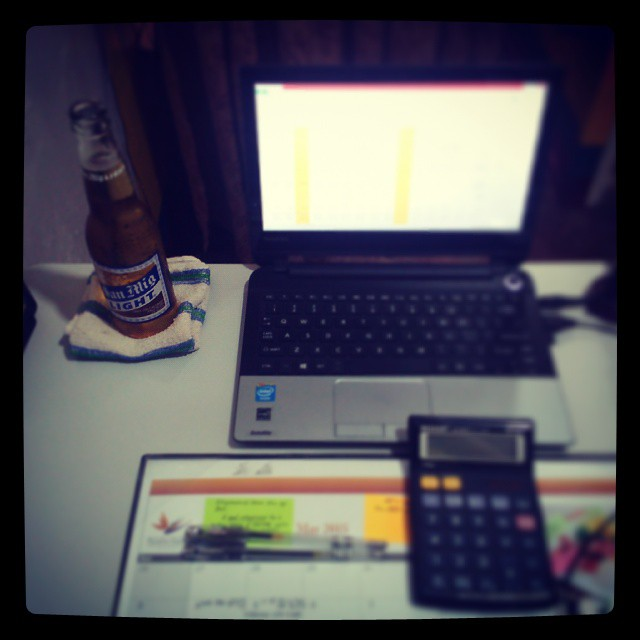 Happy Labor Day guys!!! Advanced celebration in my office while doing my reports :) #LaborDay #Hooray #SanMigLight #AfternoonDelight