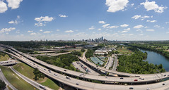lake clouds austin river us highway texas traffic unitedstates motorway onramp bluesky aerial intersection uav mopac drone loop1 quadcopter ladybirdlake dji00310