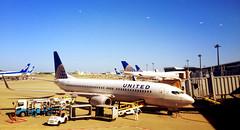 aviation, star alliance. (eveyrae) Tags: travel tarmac flying airport aircraft aviation united airplanes boeing ual narita unitedairlines nrt
