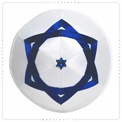 David Star kippah yarmulke (DesignKippah) Tags: jewish yarmulke kippah davidstar