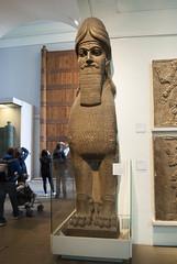 British Museum, London, United Kingdom (Tiphaine Rolland) Tags: uk greatbritain england london museum unitedkingdom statues musée londres gb angleterre britishmuseum sculptures assyrian royaumeuni grandebretagne assyrien