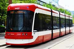 TTC #4407 Front-LeftSide (Sunnix8476) Tags: toronto freedom ttc transit streetcar commission flexity