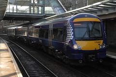 170461 (Rob390029) Tags: station train scotland edinburgh track diesel transport tracks scottish rail railway scotrail class transportation rails multiple haymarket 170 unit turbostar dmu hym abelio 170461