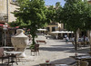 Pollenca Square (robinlockwood) Tags: square cafe tables waterfountain pollenca
