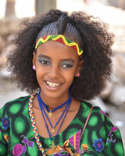Girl in Mekele, Ethiopia
