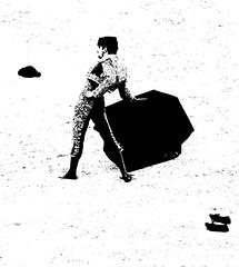 Lopez Simon (aficion2012) Tags: bw france simon monochrome monotone bull nb duotone lopez arles bullfight francia corrida toro toreador faena matador torero paques toreo 2016 garcigrande
