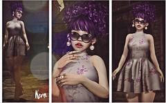 violet (KoRa ) Tags: zoom sl secondlife nyu shock swallow breathe boon evani treschicevent