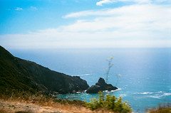 45430017 (danimyths) Tags: ocean california film beach nature water landscape coast waterfront pacific roadtrip pch pacificocean westcoast pacificcoastalhighway filmphotography