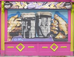 Wall art in Dublin. (piktaker) Tags: ireland dublin streetart art bar graffiti pub paint wallart eire spray tavern pubsign roi innsign publichouse republicofireland frankryanson