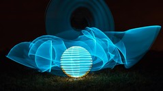 Indignation of space. (Nikolas Fotos) Tags: longexposure lightpainting orb sphere lichtmalerei lightart longexposurephotography llightpainting lightpaintingphotography peintureclaire