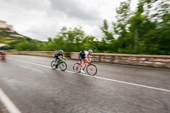 Panning near Assisi (carloberry) Tags: italy sports sport photography cycling cyclist d ciclismo panning assisi giro 2016