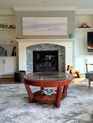 New photo for fireplace 2016 (Gord McKenna) Tags: gordmckenna gord mckenna whispy active pass panorama hanging laurel drive family room fire place bc ferries pano stitch ladner canvas gallery wrap london drugs bestsincewyoming