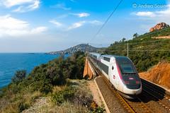 TGV Duplex 211 SNCF (Andrea Sosio) Tags: france train duplex alstom treno tgv sncf 211 provencealpescotedazur 6174 nikond60 antheor caproux societenationaledescheminsdeferfrancais andreasosio