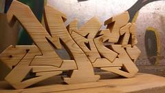 Mac71. (MM ) Tags: wood graffiti handmade unique letters gifts names custom spruce homedecor ttk madeinengland bespoke reworked madetoorder solidwood mac71 thosethatknow72