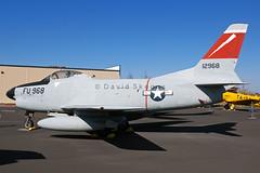 51-2968 F-86L Sabre - Preserved - Aerospace Museum of California, CA (David Skeggs) Tags: museum aircraft aeroplane sabre mcclellan usaf usairforce f86 aerospacemuseumofcalifornia davidskeggs