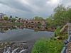 The Devorgilla bridge crossing the River Nith at the White Sands in Dumfries (penlea1954) Tags: new old uk bridge lady standing john river scotland king bridges oldest balliol dumfries galloway nith caul devorgilla
