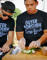 Outer Borough Genius (elevatoro) Tags: summer food cake brooklyn yum eating sandwich boom og delicious foodies williamsburg taiwanese scallion outerborough smorgasbord