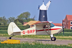 "G-BRPY PA-15 Vagabond C S Whitwell Sturgate Fly In 05-06-16 (PlanecrazyUK) Tags: sturgate egcv ""fly in"" 070615 gbrpy pa15vagabond cswhitwell fly in 050616"
