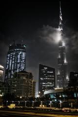 Dubai (Seupho) Tags: world city friends moon night town bush long exposure dubai time khalifa around backpacker