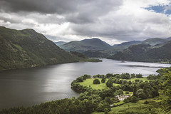 Ullswater. (ian.emerson36) Tags: lake mountains water clouds canon landscape lakedistrict hills cumbria vast ullswater