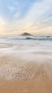 Sunrise @Grumari Beach, #RiodeJaneiro, #Brazil