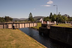 Caledonian Canal, Gairlochy (1) (Bill Cumming) Tags: canal highland fortwilliam caledonian