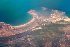 Aerial shots (Merrillie) Tags: landscape photography inflight nikon outdoor australia aerial westernaustralia topography lakeargyle d5500
